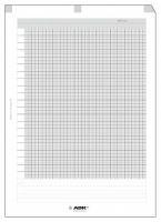 Náplň do diáře ADK A4 milimetrový papír formulář