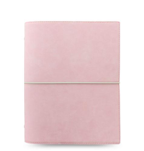 Filofax Domino Soft A5 pastelově růžový diář