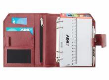 ADK diář ELEGANT A6 červený plánovací systém