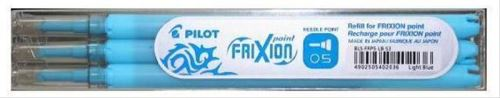 Pilot Frixion Point set 3ks náplní 0,5mm