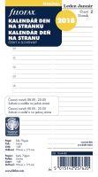 Filofax kalendář A6 2018 den na 1 stranu český