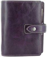 Filofax Malden A7 Pocket fialový diář kapesní
