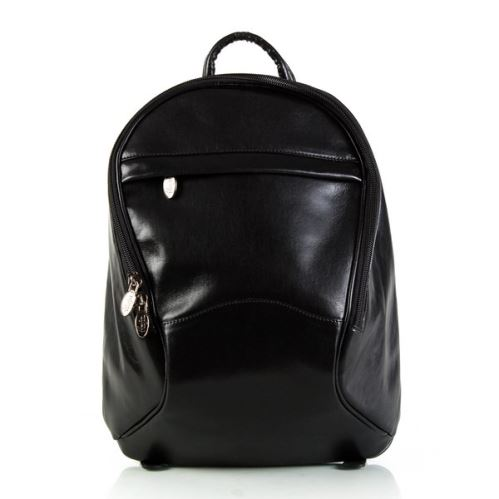 Kožený batoh ADK SIREN černý