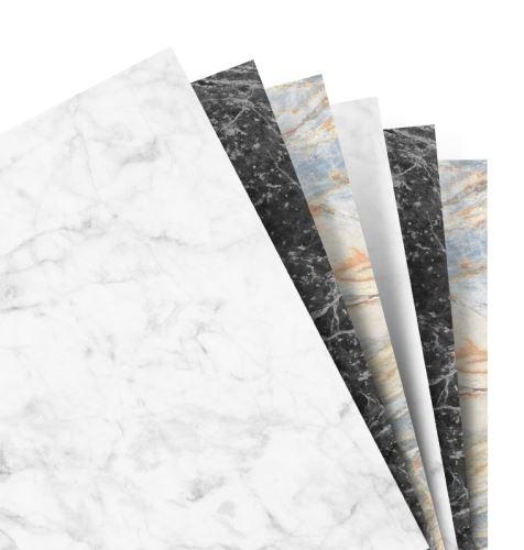 Filofax papír nelinkovaný mramorový A5
