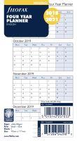 Filofax roční plánovací kalendář A6 2018-2021 anglický