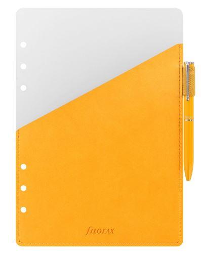 Filofax přídavné poutko na pero + žluté pero