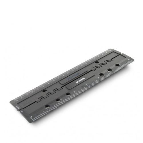 Filofax děrovač plastový přenosný A6