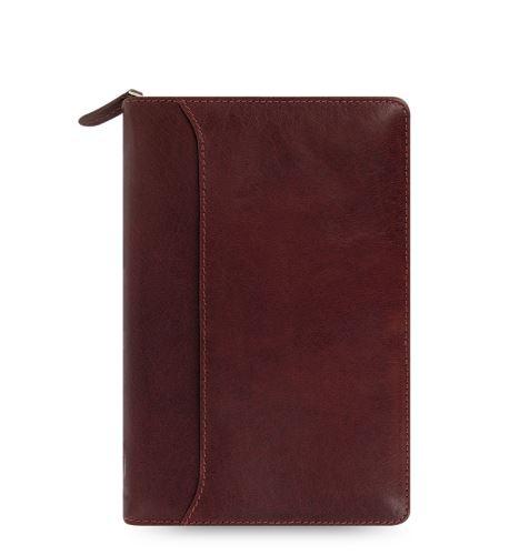 Filofax Lockwood Zip A6 Personal rubínový diář osobní