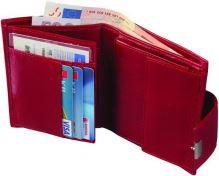 Kožená peněženka ADK MIRAMONTE červená