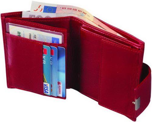 ADK peněženka MIRAMONTE červená