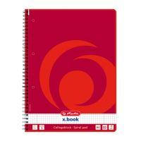 Herlitz x.book blok College kroužkový A4 čtverečkovaný