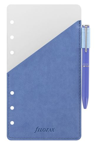 Filofax přídavné poutko na pero + modré pero