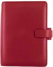 Filofax Metropol A6 Personal červený diář osobní personální