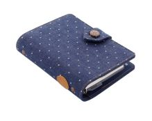 Filofax Denim Dots A7 Pocket denim diář kapesní organizér 1