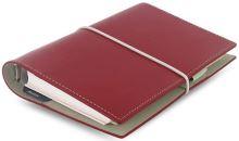 Filofax Domino A6 Personal červený diář osobní personální