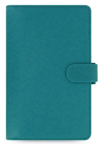 Filofax Saffiano Compact akvamarínový diář