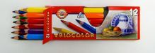 Koh-I-Noor 3152/12 pastelky trojhranné silné 12ks