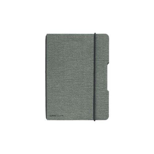 Herlitz sešit flex A6/40 listů čtverečkovaný plátno černá gumička