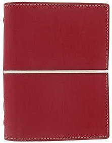 Diář Filofax Domino formát A7 červený red