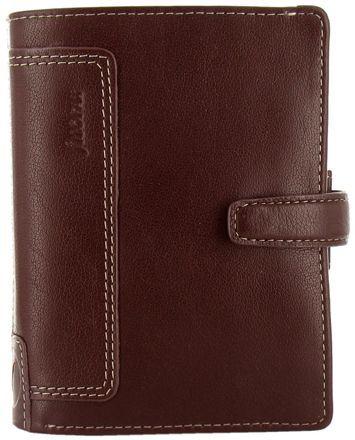 Filofax Holborn A7 Pocket hnědý diář kapesní