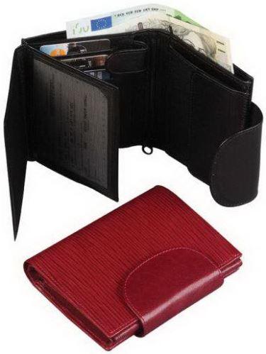 Kožená peněženka ADK RONDO černá