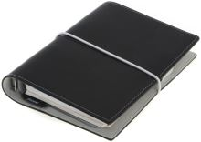 Filofax Domino A7 Pocket černý diář kapesní
