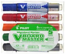 Pilot V-Board Master BeGreen set 5 popisovačů na bílé tabule