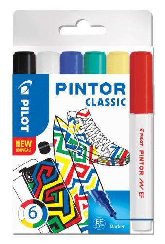Pilot Pintor Extra Fine Classic 6ks