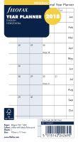Filofax plánovací kalendář A6 2018 horizontální anglický