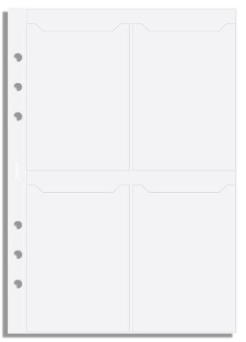 Filofax pouzdro na vizitky 8 kapes A5