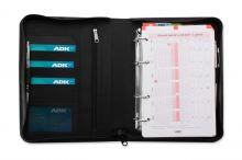 ADK diář DIPLOMAT A5 černý plánovací systém