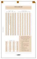 Náplň do diáře ADK A7 věčný kalendář formulář