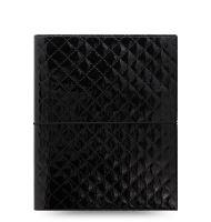 Filofax Domino Luxe A5 teal diář lesklý