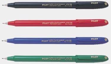 Permanentní popisovač Pilot SCAN-UF extra tenký hrot