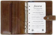 Filofax Malden A6 Personal oříškově hnědý diář osobní personální