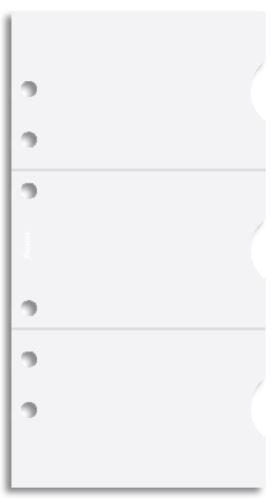 Filofax náplň do diáře formát A6 pouzdro na kreditní karty