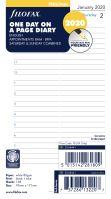 Filofax kalendář A6 2020 den na jednu stranu anglický