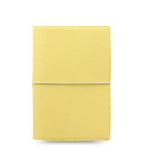 Filofax Domino Soft A6 Personal pastelově žlutý diář osobní personální