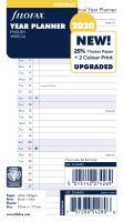 Filofax plánovací kalendář A6 2020 vertikální anglický