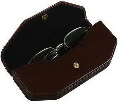 Kožené pouzdro na brýle ADK RIJEKA hnědé