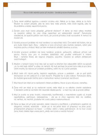 Náplň do diáře ADK A4 chytrá desatera II.  formulář