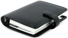 Filofax Metropol A7 Pocket černý diář kapesní