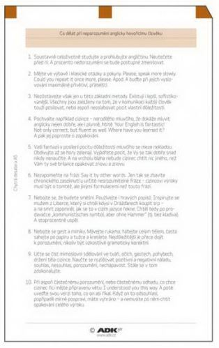 Náplň do diáře ADK A5 chytrá desatera II. formulář