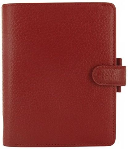 Filofax Finsbury A7 Pocket červený diář kapesní