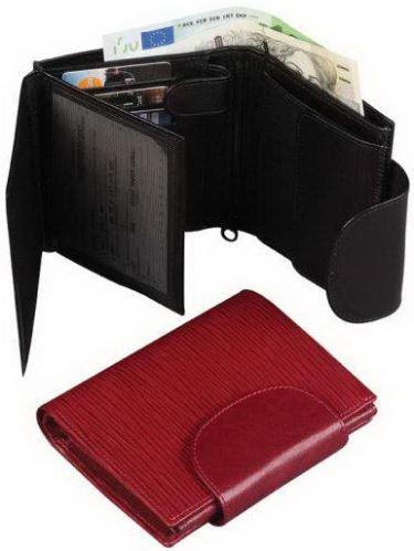 Kožená peněženka ADK RONDO červená