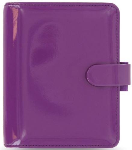 Diář Filofax Patent A7 fialový