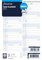Filofax plánovací kalendář A5 2021 vertikální anglický