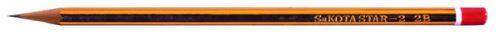 Sakota grafitová tužka 2B pruhovaná