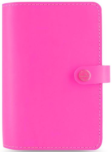 Filofax diář The Original formát A6 růžový pink