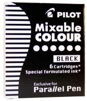 Pilot IC-P3-S6 6 náplní do plnícího pera Pilot Parallel 1086, 1087 černá